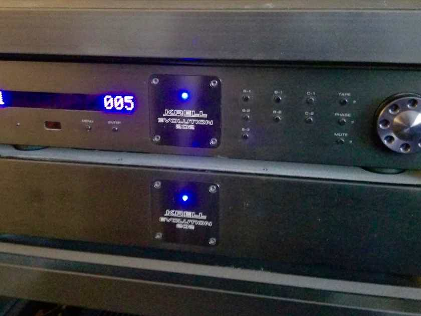 Krell Evolution 202 Stereo Preamplifier