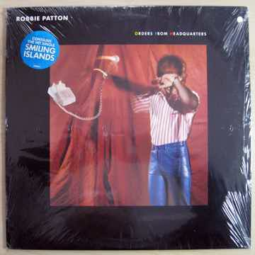 Robbie Patton - Orders From Headquarters - SEALED 1982 ...