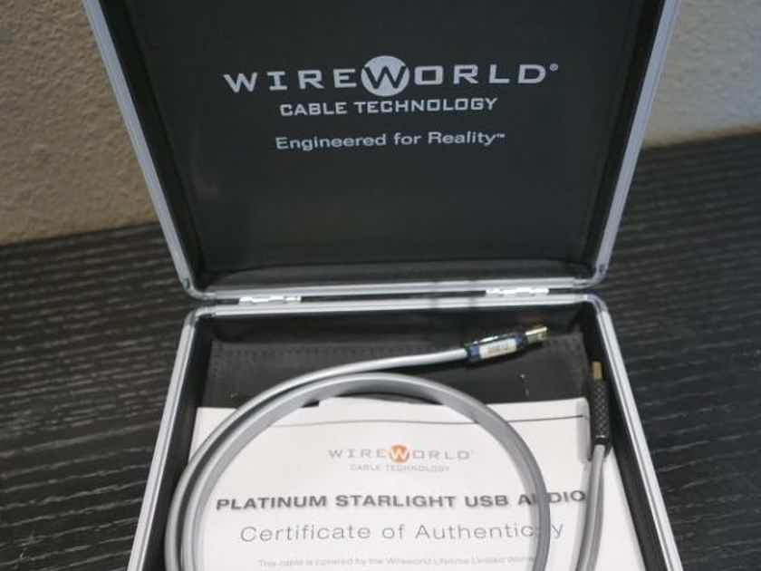 Wireworld Platinum Starlight 7 USB 2.0 (A to B) 1m Excellent