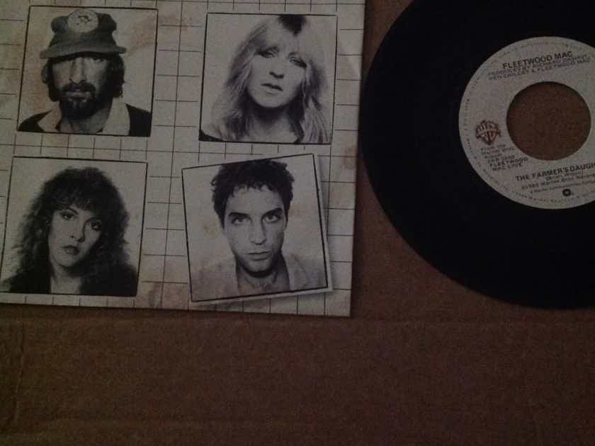 Fleetwood Mac - The Farmer's Daughter/Monday Morning Warner Brothers Records 45 Single With Picture Sleeve NM