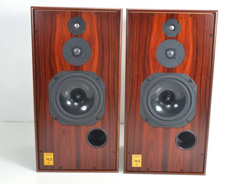 Harbeth Super HL5 Plus Speakers - Rosewood Cabinets - Original Boxes - Beautiful Condition