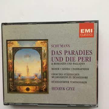 Schumann Henryk Czyz  Das Paradies Und Die Peri Cd set EMI classics