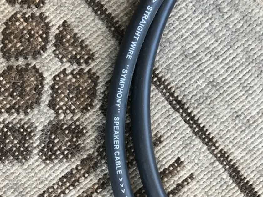 Straightwire Symphony - 8' Pair Internally Bi-Wired Speaker Cable