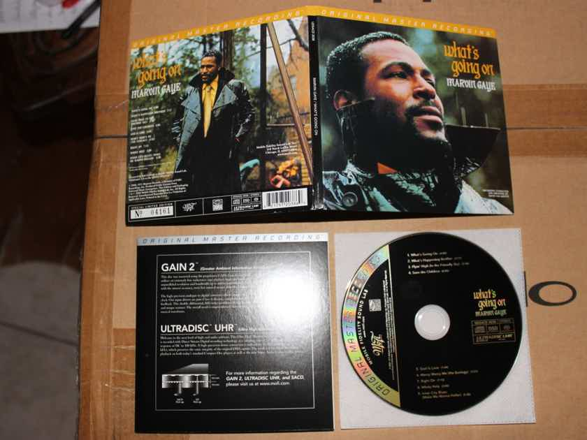 Marvin Gaye - What's Going On MoFi Original Master Limited Edition SACD - Out of Print