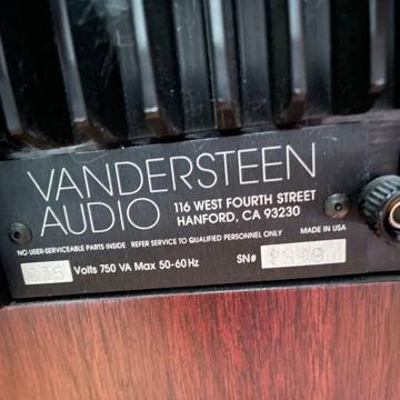 Vandersteen Quatro Wood
