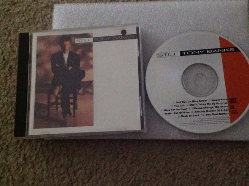 Tony Banks(Genesis) - Still  Giant Reprise Records Compact Disc
