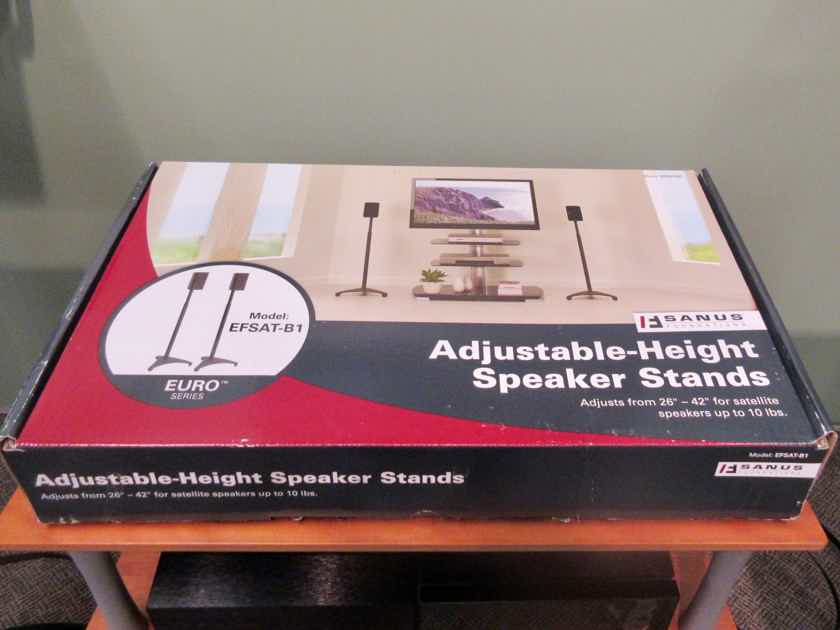 Sanus Systems EFSAT-B1 SATELLITE SPEAKER STANDS