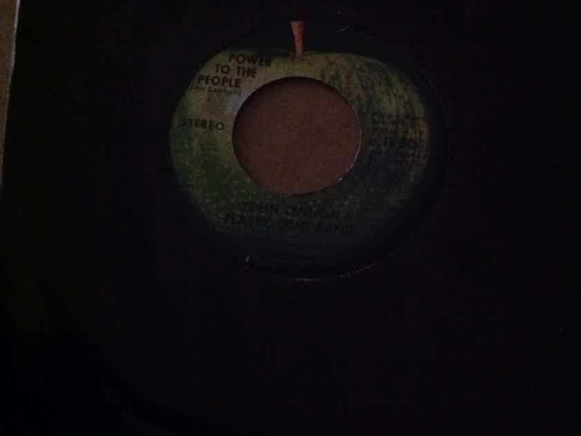 John Lennon Yoko Ono - Power To The People/Touch Me Apple Records Vinyl Analog 45 Single
