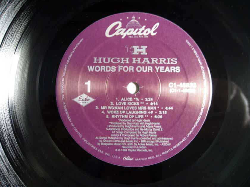 Hugh Harris - Words For Our Years - 1990  Capitol Records C1-48833