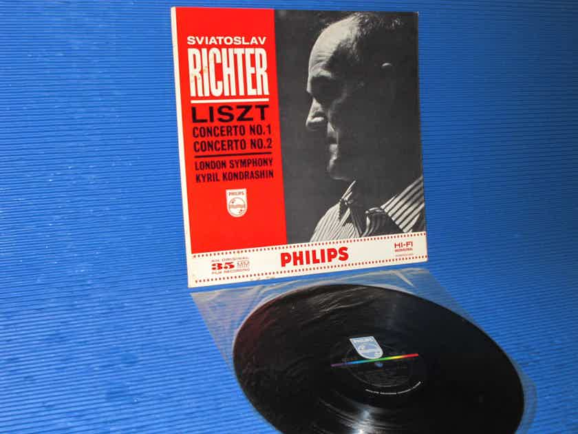 "LISZT / Kondrashin / Richter  - ""Concerto 1 & 2"" -  Philips 1962 Mono SEALED!"