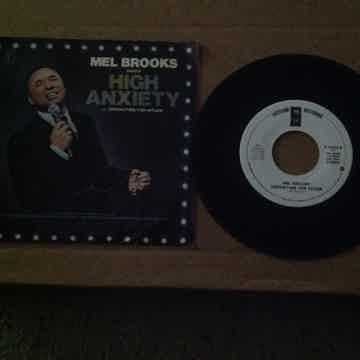 Mel Brooks - High Anxiety  Asylum Records Promo 45 Sing...