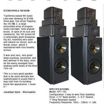 NTT Audio Lab Model 103