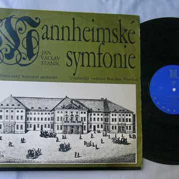 JAN VACLAV STAMIC LP-- STAMITZ--MANNHEIM SYMPHONY
