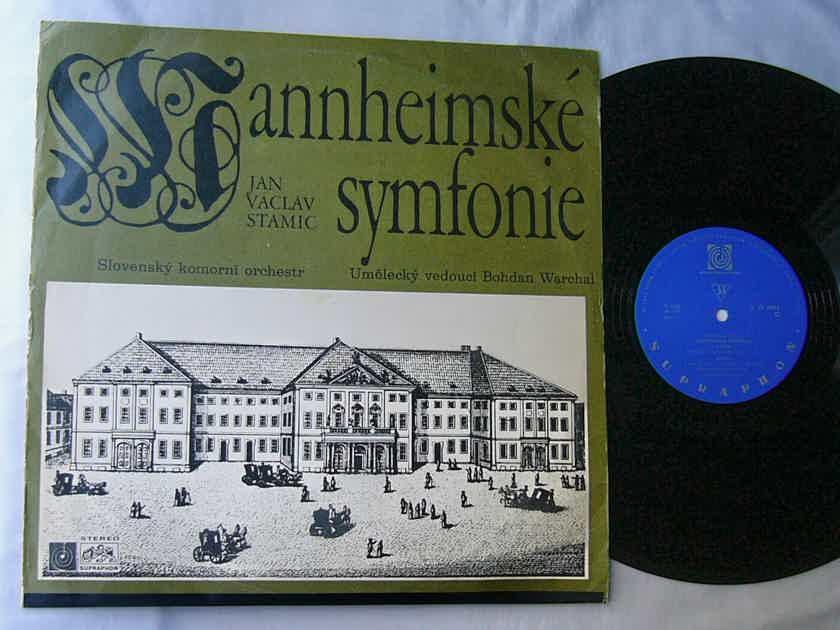 JAN VACLAV STAMIC LP-- - STAMITZ--MANNHEIM SYMPHONY -MEGA rare 1969 album--Supraphon MONO
