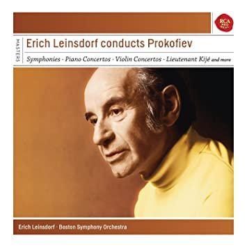 Erich Leinsdorf Conducts Prokofiev