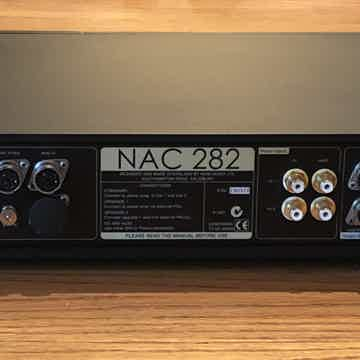 NAC282 Rear, Cap and Jumpers in place.  Jumper use depends upon power supply in use.