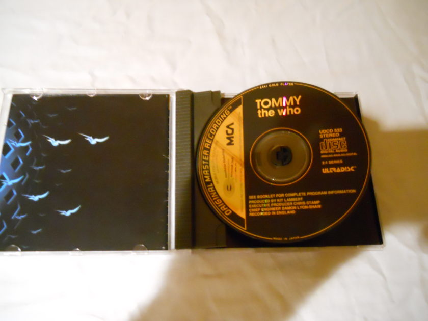 The Who - Tommy MFSL Ultradisc Gold CD UDCD 533