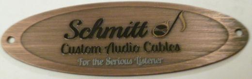 "Schmitt Custom Audio Cables for the ""Serious Listener"""