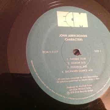 John Abercrombie  Characters ECM Records
