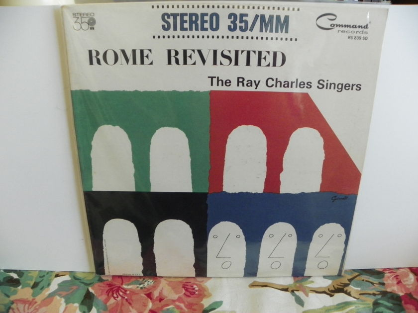 RAY CHARLES SINGERS - ROME REVISITED 35/MM