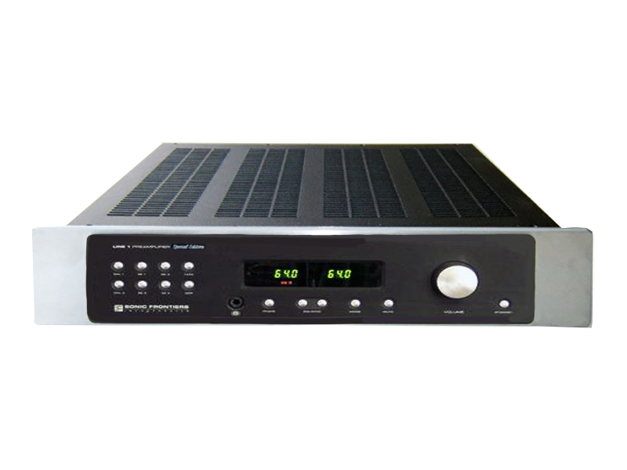 SONIC FRONTIERS Line-1 SE Line Stage Preamp (Black) -
