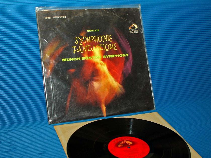 """BERLIOZ / Munch   - """"Symphonie Fantastique"""" -  RCA 'Shaded Dog' 1962"""