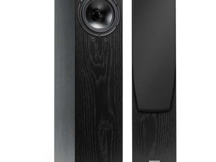 Spendor A7 Floorstanding Speakers; Black Ash Pair (New w/ Warranty) (28871)