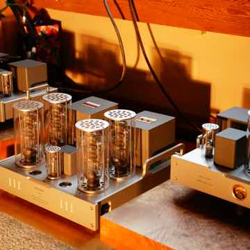 Allnic Audio A6000 60 Watt parallel SET 300b monoblock ...