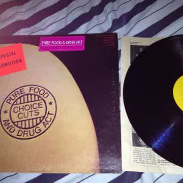 Pure Food & Drug Act - Choice Cuts Epic Records Vinyl L...