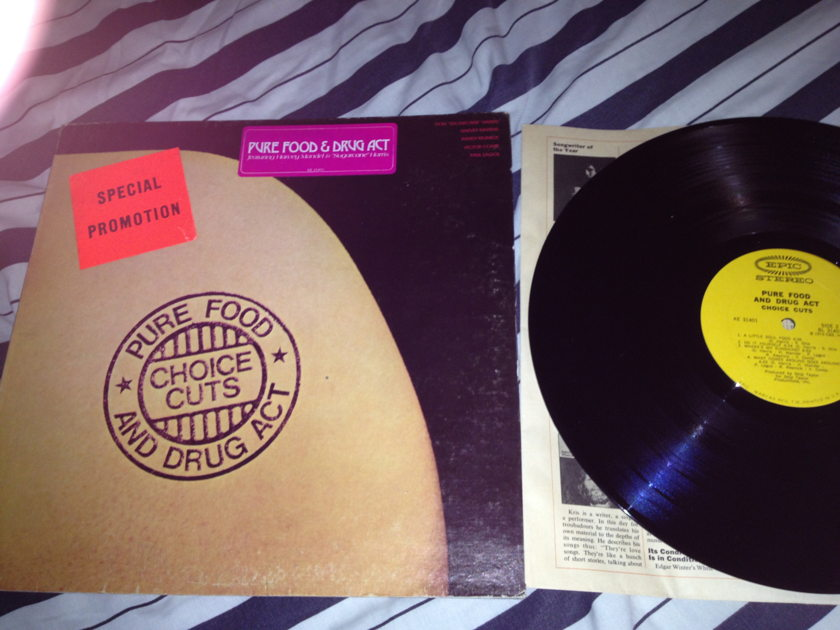 Pure Food & Drug Act - Choice Cuts LP NM