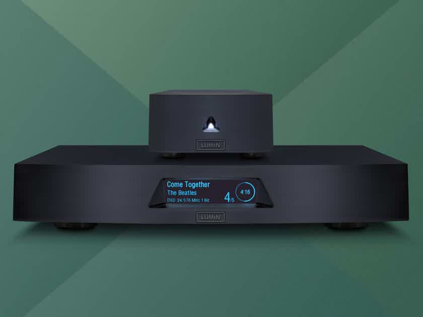 LUMIN X1 Reference Network Music Player/Streamer Supports MQA & Roon