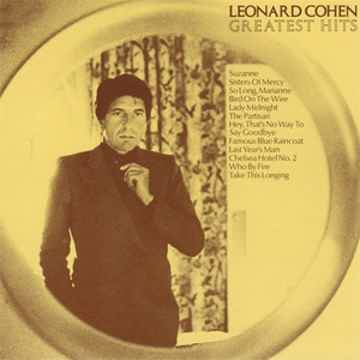 Leonard Cohen The Best Of, 180 gram LP