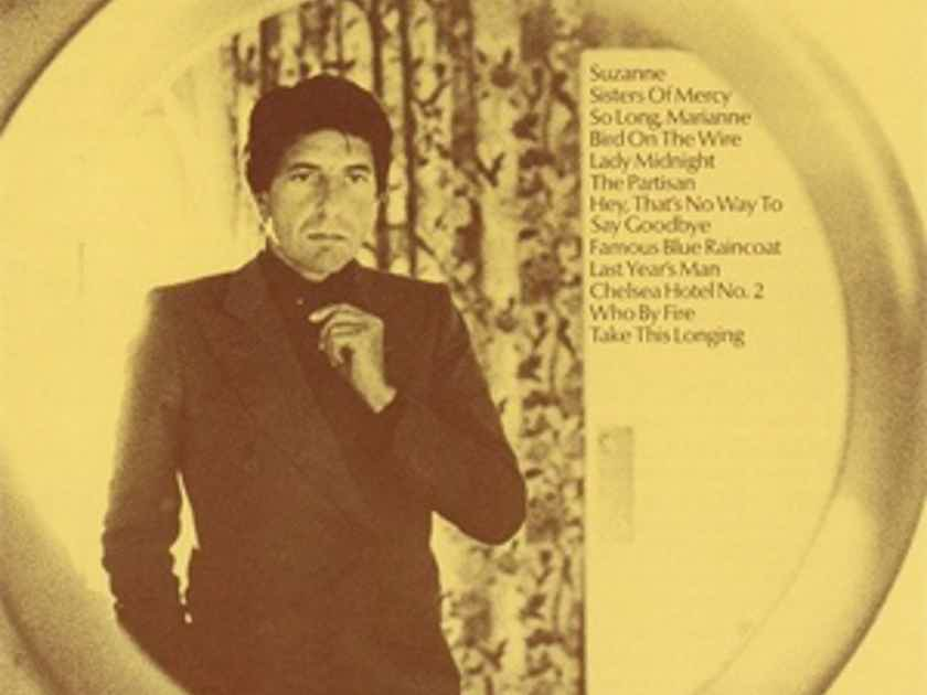 Leonard Cohen The Best Of, 180 gram LP