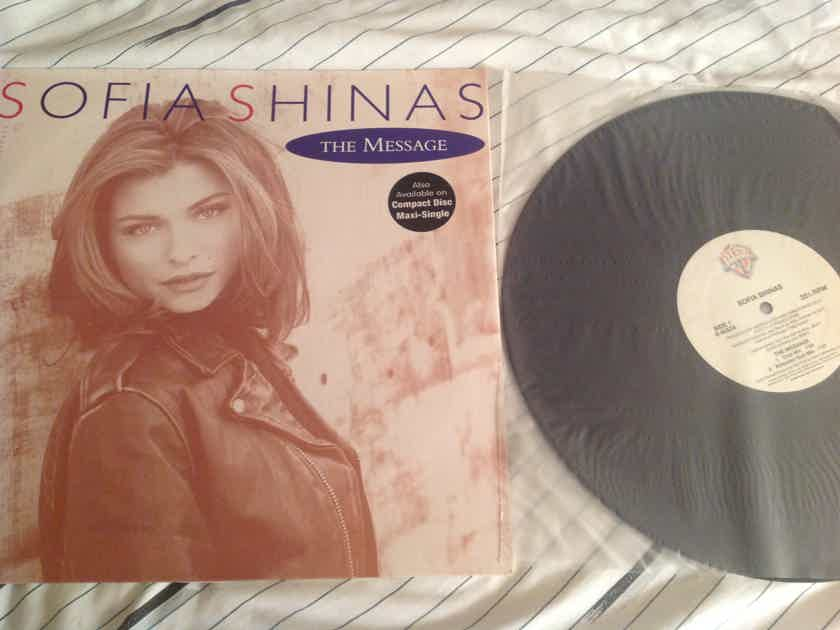 Sofia Shinas The Message Warner Brothers Records 12 Inch EP