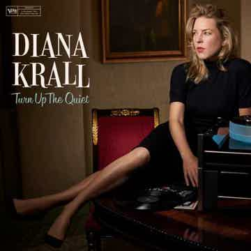Diana Krall Turn Up the Quite - Verve 180 gram 2 LPs