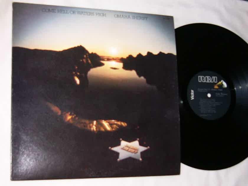 OMAHA SHERIFF -  COME HELL - RARE 1977 RCA PROMO LP
