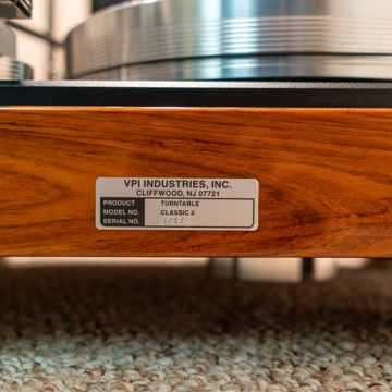 VPI Industries Classic 3 - Bob's Devices