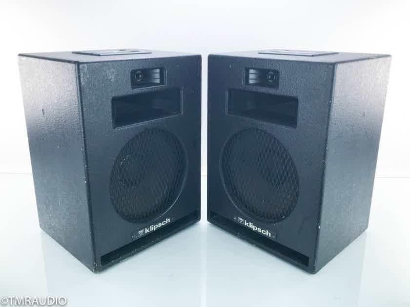 Klipsch Heresy HIP Vintage Speakers Black Pair (16210)