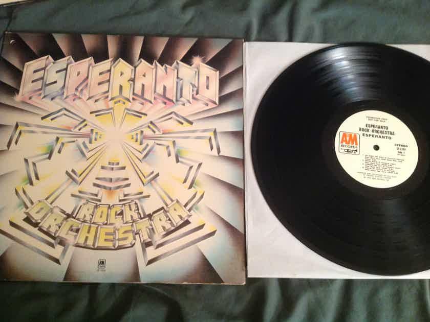 Esperanto Rock Orchestra  Esperanto Rock Orchestra A & M Records White Label Promo LP