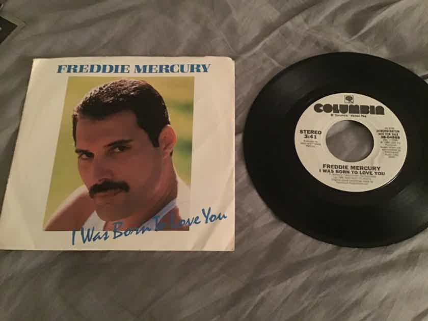 Freddie Mercury  I Was Born To Love You Promo 45 With Picture Sleeve