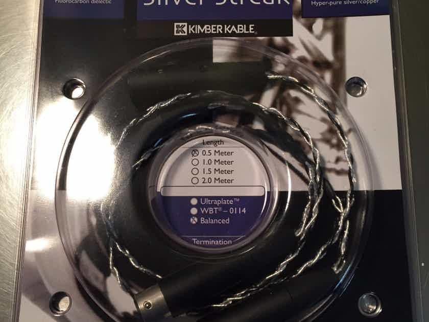 Kimber Kable SilverStreak ic 0.5M XLR