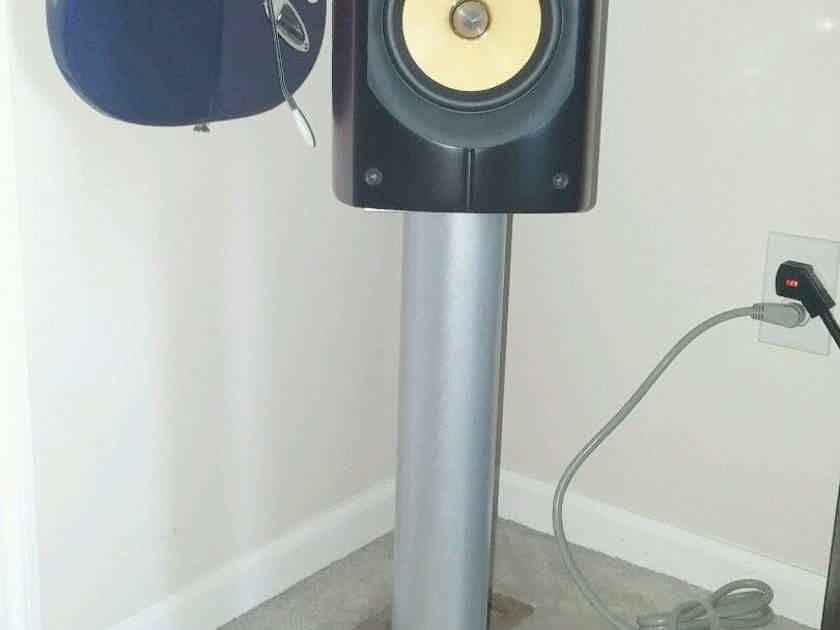 PSB Imagine B Bookshelf Speakers and Plateau Stands
