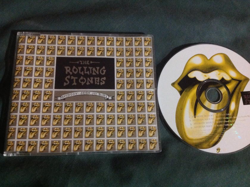Rolling Stones - Anybody Seen My Baby 4 Track EP UK
