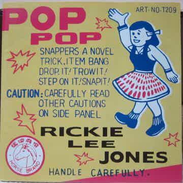 Rickie Lee Jones Pop Pop ORG 007 Reissue 180g 2xLP
