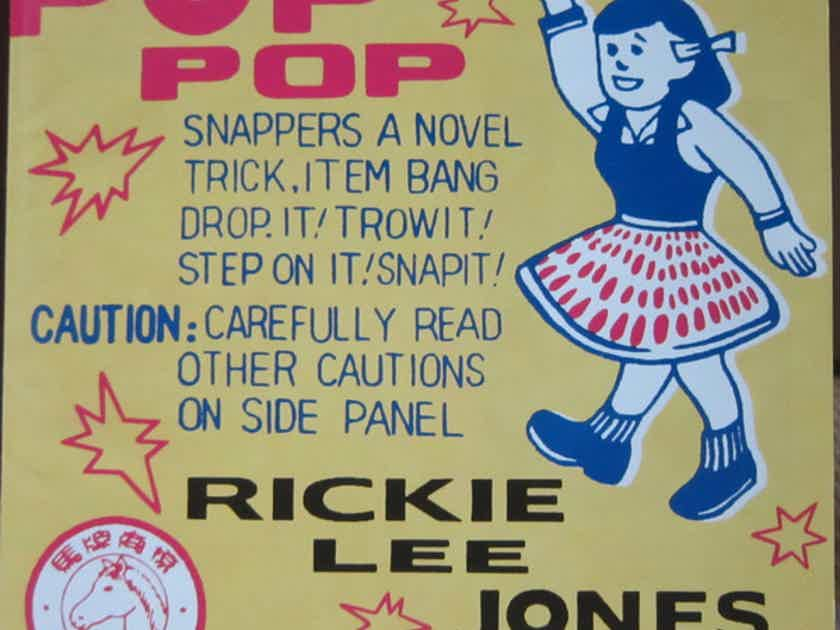 Rickie Lee Jones Pop Pop ORG 007 Reissue 180g 2xLP