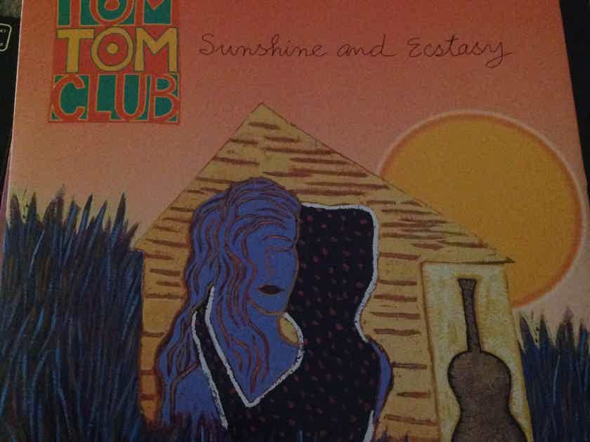 Tom Tom Club - Sunshine And Ecstasy 12 Inch EP Sire Records Vinyl NM