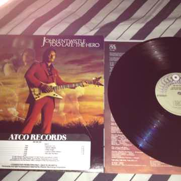 John Entwistle(The Who) - Too Late The Hero Atco Record...