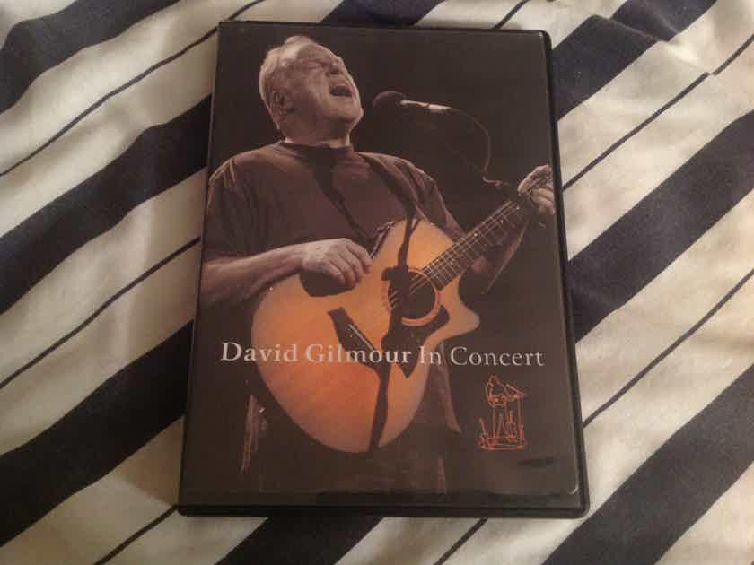 David Gilmour  David Gilmour In Concert DVD