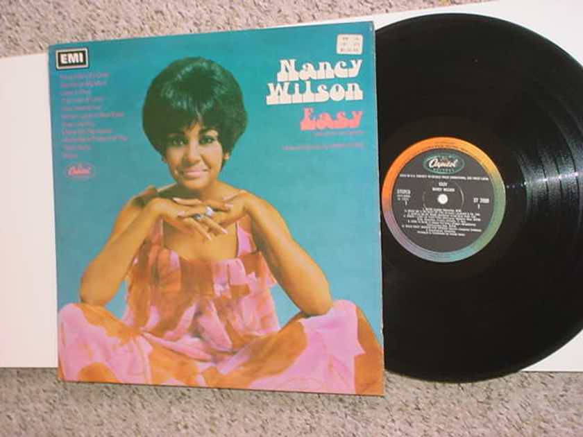 Nancy Wilson EASY - LP Record Capitol EMI Stereo Import Great Britain see add