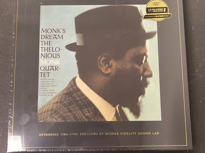 """The Thelonious Monk Quartet """"Monk's Dream"""" 180g 45RPM 2LP Box Set #1307,#1480, #1538"""